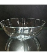 """1 (One) BACCARAT CORAIL LARGE Crystal Lobed Serving Bowl 9 3/4"""" - Signed - $278.64"""