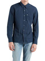Levi's Men's Classic Cotton Long Sleeve Sunset One Pocket Casual Dress Shirt