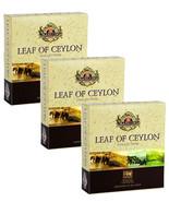 Basilur leaf of Ceylon collection - pure Ceylon tea - 40 Tea Bags X 03 Packs - $29.60