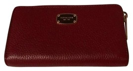Burnt Red Jet Set Travel Multifunction Leather Smart Phone Wallet,NWT $98 - £64.27 GBP