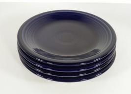 Homer Laughlin Fiesta Cobalt Blue Salad Plate (s) LOT OF 4 - $29.65