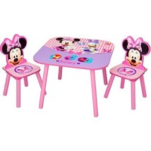 Disney - Minnie Mouse Activity Table and Chairs S - $125.98