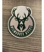 NBA Milwaukee Bucks Iron on Patches Embroidered Badge Patch Applique Wor... - $9.89