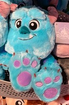 "Disney Parks Fluffy Baby Sulley Big Feet Plush Doll 12"" New with Tag  - $39.19"