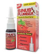 Sinus Plumber Migraine Headache Nasal Spray with Caffeine - Capsaicin - Feverfew - $11.00