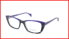 Face A Face Eyeglasses Frame SELMA 2 Col. 2014 Acetate Lines and Blue Light - $316.62