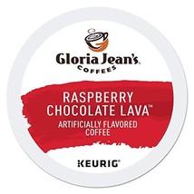 Gloria Jean's Coffees Raspberry Chocolate Lava, Single Serve Coffee K-Cup Pod, F - $41.80