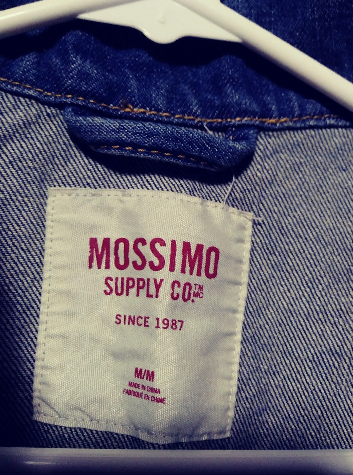 613c96a4fc Mossimo Supply Co Juniors Jean Jacket Denim Sleeveless Vest Distressed  Medium