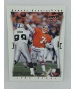 1997 SCORE PINNACLE #1 JOHN ELWAY DENVER BRONCOS FOOTBALL CARD - $12.82
