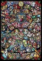 Tenyo Disney & Pixar Heroine Stained Art Pure White Jigsaw Puzzle (1000 P... - $34.96