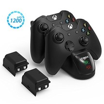 VOGEK Xbox One Controller Charger, [Dual Slot] High Speed Docking/Chargi... - $29.20