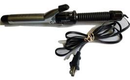 "Conair Instant Heat Dual Voltage Hot Curling Iron 1 1/4"" CD87W 25 Heat S... - $15.50"