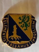 US Military Chemical Corps Insignia Pin - Elementis Regamus Proelium - $10.00