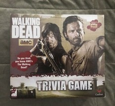 The Walking Dead Trivia Board Game Cardinal Read Description! - $7.99