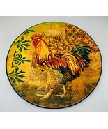 """Certified International RUSTIC ROOSTER """"Volaille Doree"""" Dinner Plate 11 ... - $27.71"""