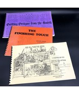 3 Quilting Booklets Finishing Touch Designs From The Amish Christmas Ide... - $16.99