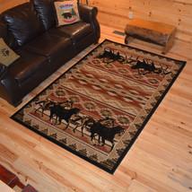 "8x10 (7'10"" x 9'10"") Horse Southwestern Lodge Cabin Area Rug **FREE SHIP... - €199,65 EUR"