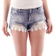 Vanilla Star Festival Denim Shorts Size 1 New Msrp $36.00 - $12.99