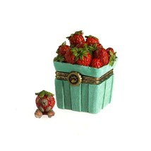 "Boyds Bears Treasure Box ""Sweetie's Strawberry Basket W/Berry McNibble"" ... - $24.99"