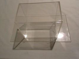 Plexi Glass/Plastic , Box & Seperate Base (Display Unit) , Slot for Deposit - $44.50