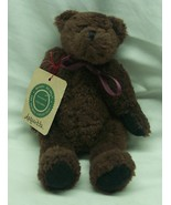 """Boyds BROWN ASQUITH THE TEDDY BEAR 8"""" Plush STUFFED ANIMAL TOY NEW - $16.34"""