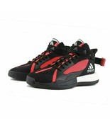 adidas Posterize EG8879 Mens Basketball Shoes Core Black/Red/Silver Mult... - $61.64