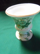 Outstanding CROWN Bone China Mini VASE Staffordshire England...FREE POST... - $16.42