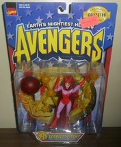 1997 Toy Biz Marvel Comics Avengers Action Figure ~ Scarlet Witch - $14.85