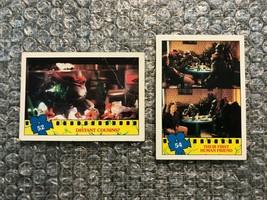 1990 Topps Teenage Mutant Ninja Turtles TMNT Movie Trading Cards Lot: #52 & #54 - $3.13