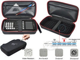 Travel Hard Case for Graphing Calculator Texas Instruments TI-84 Plus Ti... - $1,000.00