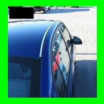 1984-1987 BMW 325E E30 CHROME ROOF TRIM MOLDINGS 2PC 325 E 1985 1986 84 ... - $29.99