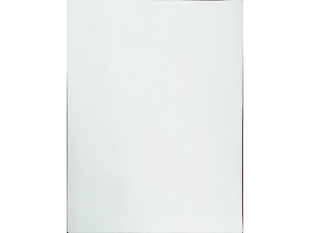 "Opaque White Sticker Paper, 10 Sheet, 8.5"" x 11"""
