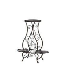 Hourglass Iron Plant Stand For Three Plants - $49.95