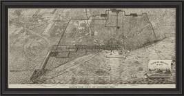 Artwork Chicago in 1832 BCBL New SC-728 FREE SHIPP - $719.00