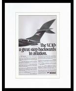 1967 BOAC VC10 Framed 11x14 ORIGINAL Vintage Advertisement - $41.71