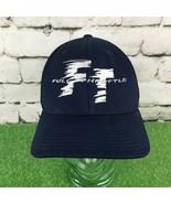 FT Full Throttle Mens Sz L-XL Hat Navy Blue Fitted Flexfit Yupoong Baseb... - $14.84