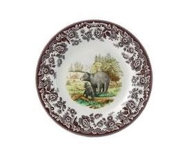 Spode Woodland American Wildlife Black Bear Dinner Plate - $51.22