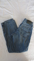 Boys Lee Adjustable Stone Wash Straight Fit Jeans Size 14 - $13.09