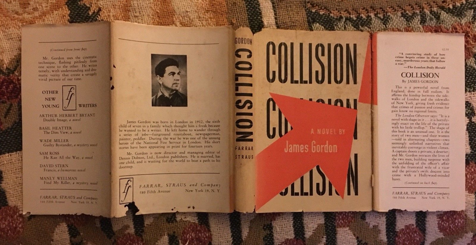 Collison by James Gordon 1st. 1947.
