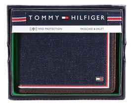 Tommy Hilfiger Men's Leather Wallet Passcase Billfold Rfid Brown 31TL220103 image 10
