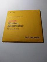 Kodak Wratten Gelatin Filter NO. 827 75x75mm 1496256 - $10.44