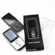 Intelligent Speech Translator Handheld Voice Simultaneous Translation To... - $94.05