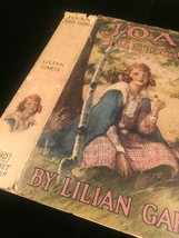 """1924 """"Joan: Just Girl"""" by Lilian Garis frame-ready dust jacket (no book) image 6"""