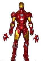 12-inch Marvel Legends Gold / Red Metallic IRON MAN Classic Comics Actio... - $44.00