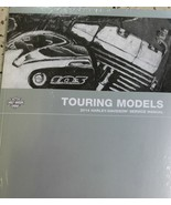 2014 Harley Davidson TOURING MODELS Service Repair Shop Manual Set W Ele... - $277.14