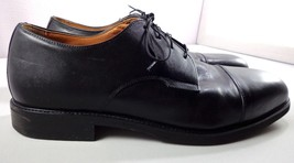 Rockport Oxfords Mens Black Leather Cap Toe Dress Shoes Size 13 M - $84.10