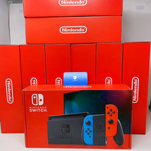 Brand New Nintendo Switch Console with Neon Red and Blue Joy-Con in Stock - $445.00