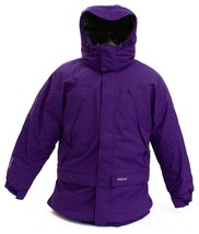 Marmot Purple Yukon Jr. Classic Down Hooded Parka Young Men's Size NWT - $262.49