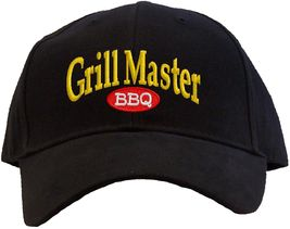 Grill Master Embroidered Baseball Cap - Available in 7 Colors - Hat BBQ - $24.95