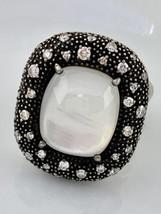 David Yurman Mitternachts Méange Ring mit Mond Quarz und Diamanten - $779.48